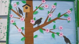 Коллективные работы на тему весна